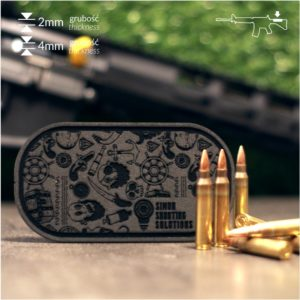 Indywidualna nakładka karabinowa 2mm lub 4mm